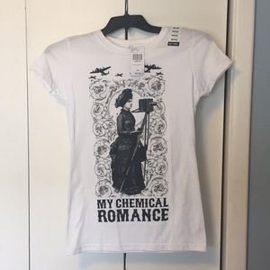 Hot Topic My Chemical Romance Shirt NWT. Size M